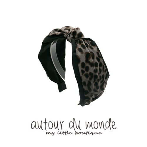 trend leopard hairband