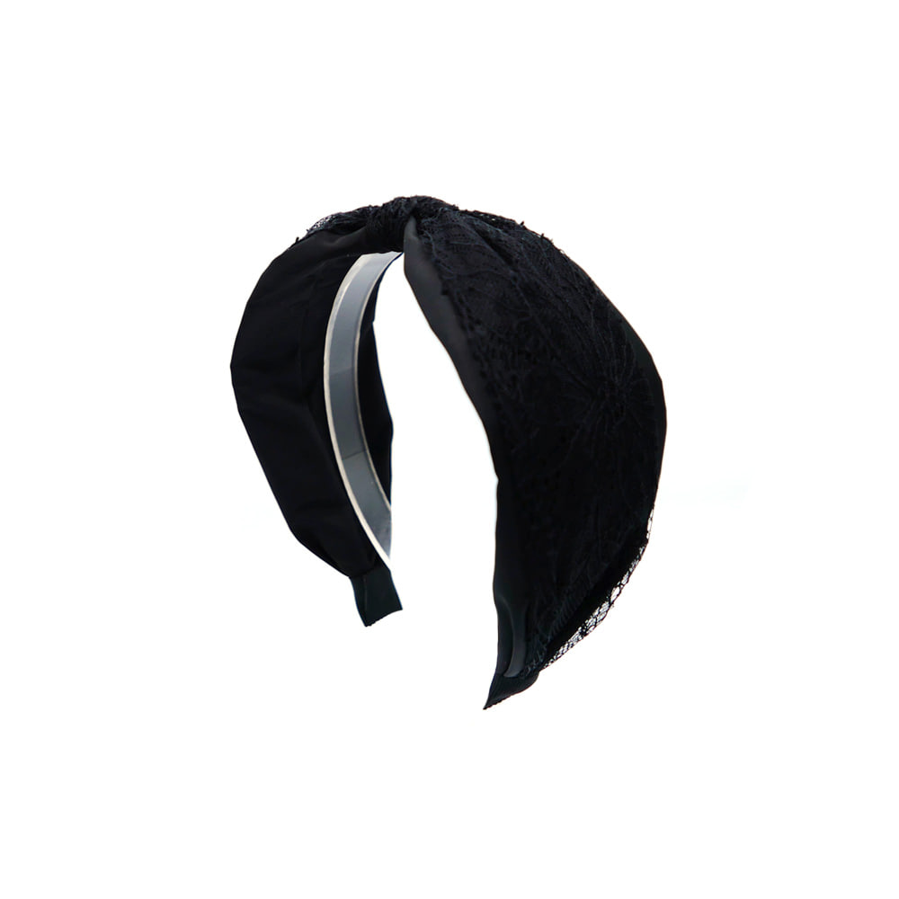 julia lace hairband (black)