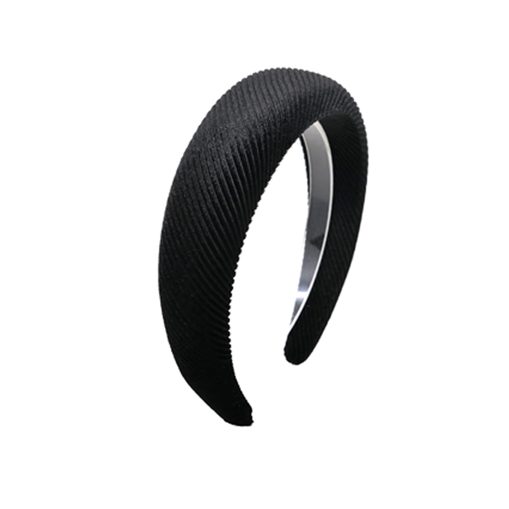 simple volume hairband (black)