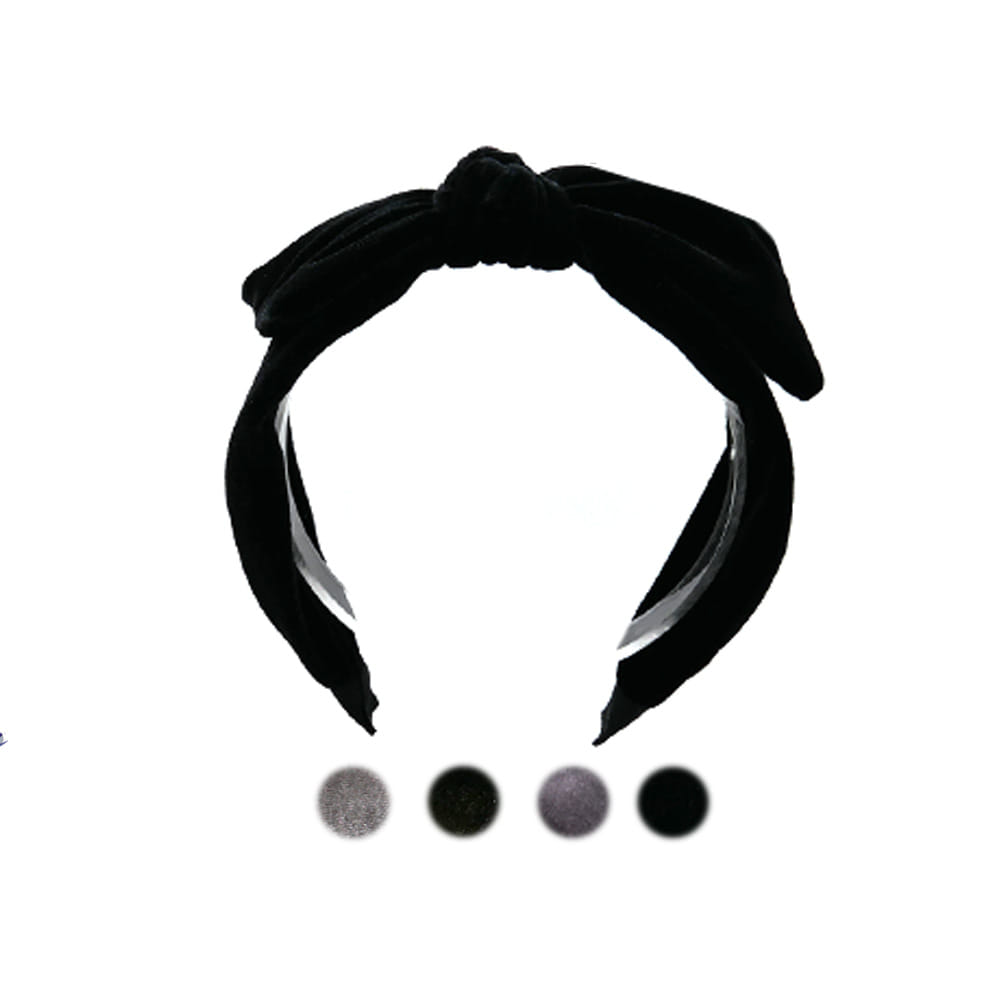 sweet ribbon hairband (4colors)